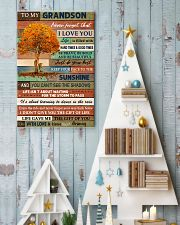 THE GIFT OF YOU - GREAT GIFT FOR GRANDSON 11x17 Poster lifestyle-holiday-poster-2