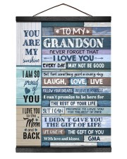 FOLLOW YOUR DREAMS - BEST GIFT FOR GRANDSON Hanging Canvas tile