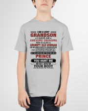 I AM A LUCKY GRANDSON Youth T-Shirt garment-youth-tshirt-front-01