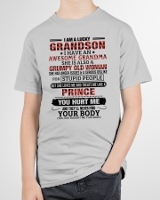 I AM A LUCKY GRANDSON Youth T-Shirt garment-youth-tshirt-front-lifestyle-01