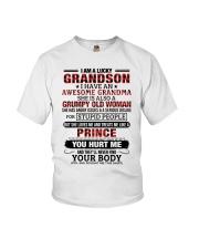 I AM A LUCKY GRANDSON Youth T-Shirt tile