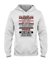 I AM A LUCKY GRANDSON Hooded Sweatshirt tile