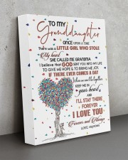 MY HEART - BEAUTIFUL GIFT TO GRANDDAUGHTER 11x14 Gallery Wrapped Canvas Prints aos-canvas-pgw-11x14-lifestyle-front-15