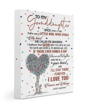 MY HEART - BEAUTIFUL GIFT TO GRANDDAUGHTER 11x14 Gallery Wrapped Canvas Prints front