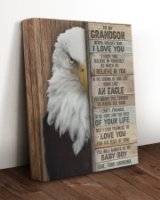 NEVER FORGET I LOVE YOU - BEST GIFT FOR GRANDSON 11x14 Gallery Wrapped Canvas Prints aos-canvas-pgw-11x14-lifestyle-front-17