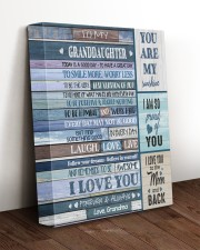 I LOVE YOU - AMAZING GIFT FOR GRANDDAUGHTER 11x14 Gallery Wrapped Canvas Prints aos-canvas-pgw-11x14-lifestyle-front-17