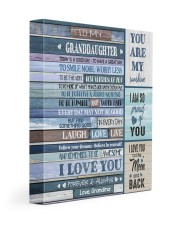 I LOVE YOU - AMAZING GIFT FOR GRANDDAUGHTER 11x14 Gallery Wrapped Canvas Prints front