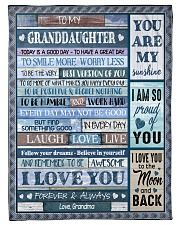 "I LOVE YOU - AMAZING GIFT FOR GRANDDAUGHTER Small Fleece Blanket - 30"" x 40"" thumbnail"