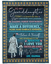 I LOVE YOU - SPECIAL GIFT FOR GRANDDAUGHTER Fleece Blanket tile