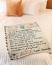 "MY BABY GIRL - GRANDMA TO GRANDDAUGHTER  Small Fleece Blanket - 30"" x 40"" aos-coral-fleece-blanket-30x40-lifestyle-front-01"