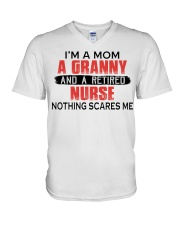 AND A RETIRED - PERFECT GIFT FOR NURSE  V-Neck T-Shirt tile