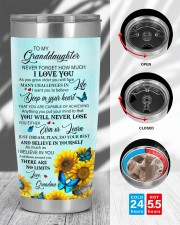 DEEP IN YOUR HEART - LOVELY GIFT FOR GRANDDAUGHTER 20oz Tumbler aos-20oz-tumbler-lifestyle-front-45