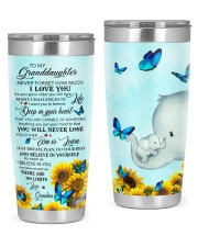 DEEP IN YOUR HEART - LOVELY GIFT FOR GRANDDAUGHTER 20oz Tumbler front