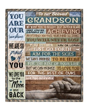 """YOU ARE OUR SUNSHINE - BEST GIFT FOR GRANDSON Quilt 50""""x60"""" - Throw front"""