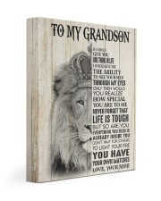 LIFE IS TOUGH - GREAT GIFT FOR GRANDSON 11x14 Gallery Wrapped Canvas Prints front