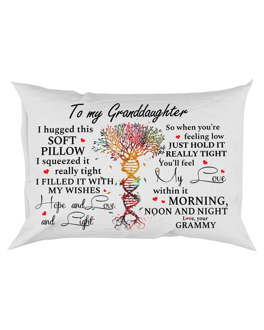 YOU'LL FEEL MY LOVE - GREAT GIFT FOR GRANDDAUGHTER Rectangular Pillowcase