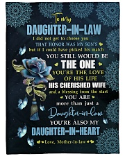 """YOU'RE THE LOVE - SPECIAL GIFT FOR DAUGHTER-IN-LAW Large Fleece Blanket - 60"""" x 80"""" front"""
