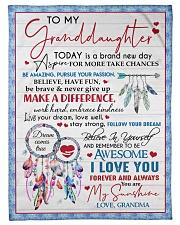 "MY SUNSHINE - AMAZING GIFT FOR GRANDDAUGHTER Small Fleece Blanket - 30"" x 40"" front"