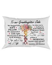 HOPE AND LOVE - LOVELY GIFT FOR GRANDDAUGHTER Rectangular Pillowcase front