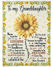 YOU ARE MY SUNSHINE - GRANDMA TO GRANDDAUGHTER Fleece Blanket tile