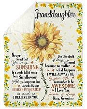 YOU ARE MY SUNSHINE - GRANDMA TO GRANDDAUGHTER Sherpa Fleece Blanket tile