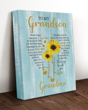 I LOVE YOU - SPECIAL GIFT FOR GRANDSON 11x14 Gallery Wrapped Canvas Prints aos-canvas-pgw-11x14-lifestyle-front-17