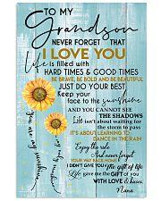 tqh-htgt-GRANDSON-NANA-gift 11x17 Poster front