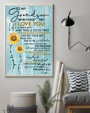 tqh-htgt-GRANDSON-NANA-gift 11x17 Poster lifestyle-poster-1