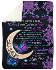 """YOU ARE MY SUNSHINE - BEST GIFT FOR GRANDDAUGHTER Large Sherpa Fleece Blanket - 60"""" x 80"""" thumbnail"""