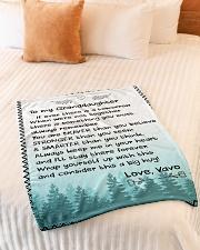 "BIG HUG - LOVELY GIFT FOR GRANDDAUGHTER Small Fleece Blanket - 30"" x 40"" aos-coral-fleece-blanket-30x40-lifestyle-front-01"