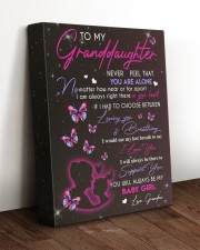BABY GIRL - BEST GIFT FOR GRANDDAUGHTER 11x14 Gallery Wrapped Canvas Prints aos-canvas-pgw-11x14-lifestyle-front-17