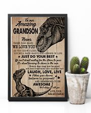 WE LOVE YOU - NANA AND GRANDAD TO GRANDSON 11x17 Poster lifestyle-poster-8