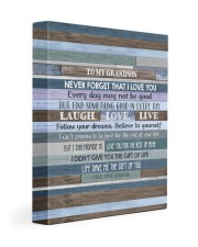 BELIEVE IN YOURSELF - LOVELY GIFT FOR GRANDSON Gallery Wrapped Canvas Prints tile