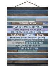 BELIEVE IN YOURSELF - LOVELY GIFT FOR GRANDSON Hanging Canvas tile