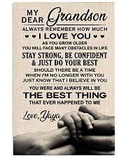 JUST DO YOUR BEST - AMAZING GIFT FOR GRANDSON 11x17 Poster front
