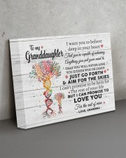 I LOVE YOU - GREAT GIFT FOR GRANDDAUGHTER 14x11 Gallery Wrapped Canvas Prints aos-canvas-pgw-14x11-lifestyle-front-15