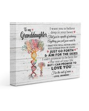 I LOVE YOU - GREAT GIFT FOR GRANDDAUGHTER 14x11 Gallery Wrapped Canvas Prints front