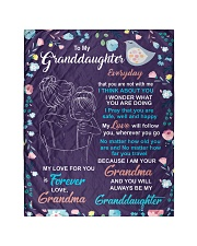 I THINK ABOUT YOU - AMAZING GIFT FOR GRANDDAUGHTER Quilt tile
