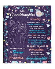 """I THINK ABOUT YOU - AMAZING GIFT FOR GRANDDAUGHTER Quilt 50""""x60"""" - Throw front"""