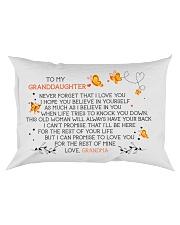 I LOVE YOU - LOVELY GIFT FOR GRANDDAUGHTER Rectangular Pillowcase front