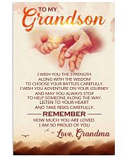 to my grandson grandpa avn 11x17 Poster front