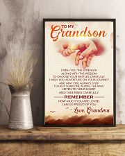 to my grandson grandpa avn 11x17 Poster lifestyle-poster-3