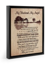 MISS YOU SO MUCH - BEST GIFT FOR HUSBAND 11x14 Black Floating Framed Canvas Prints thumbnail