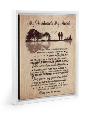 MISS YOU SO MUCH - BEST GIFT FOR HUSBAND 11x14 White Floating Framed Canvas Prints thumbnail