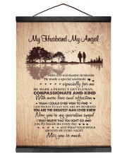 MISS YOU SO MUCH - BEST GIFT FOR HUSBAND 12x16 Black Hanging Canvas thumbnail