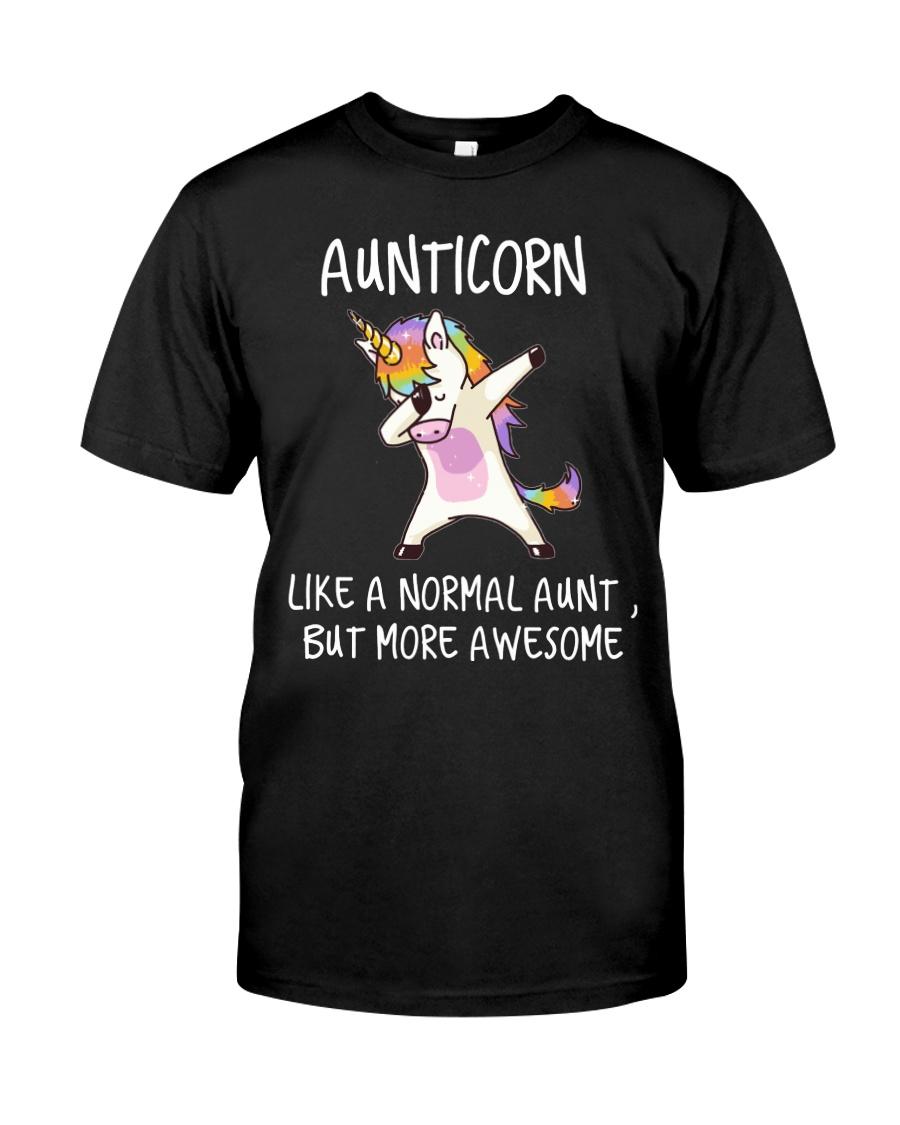 Aunt Unicorn Classic T-Shirt