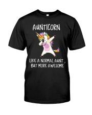 Aunt Unicorn Classic T-Shirt front