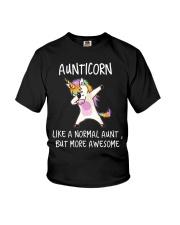 Aunt Unicorn Youth T-Shirt thumbnail