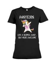 Aunt Unicorn Premium Fit Ladies Tee thumbnail