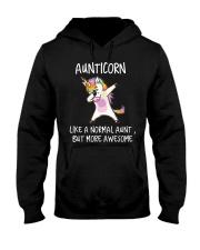 Aunt Unicorn Hooded Sweatshirt thumbnail